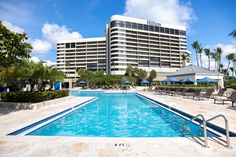 Hilton Miami Airport Blue Lagoon